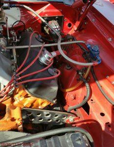 hemi engine plate