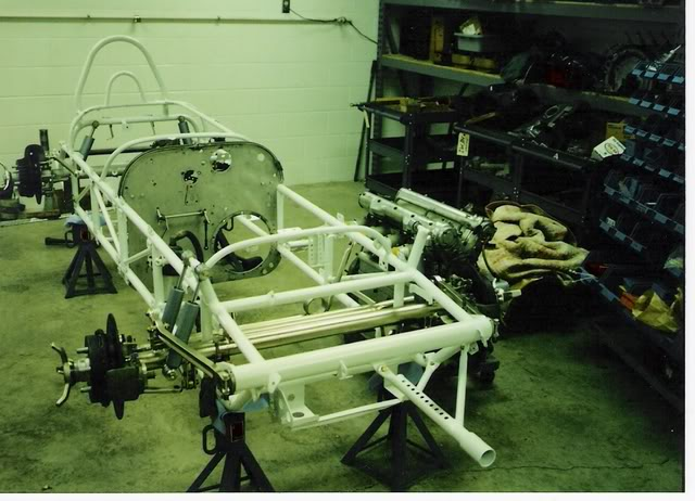 early indy car chassis