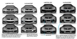 pantera design sketches