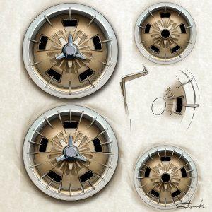 custom wheel design