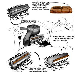 valve cover design