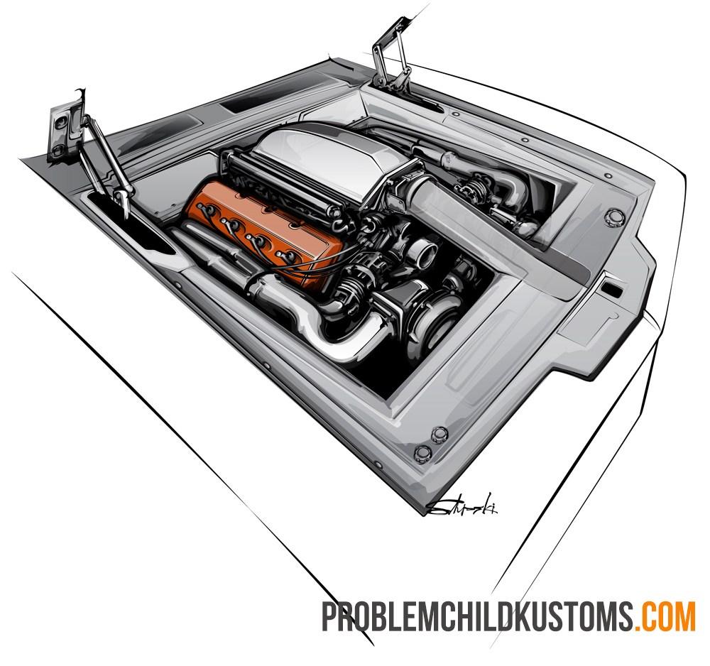 engine bay design