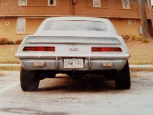 1969 camaro rear