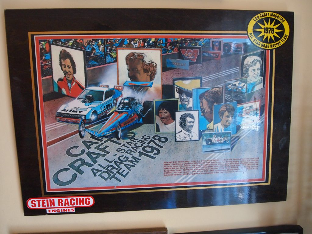 1978 car craft all star drag racing team