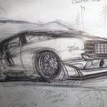 refining the sketch