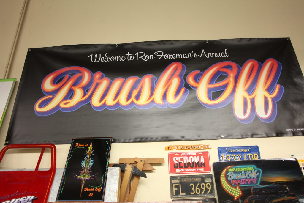 brush off banner