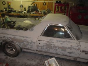 stripping the el camino