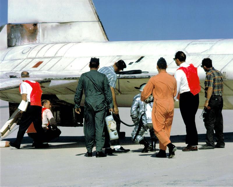 x-15 crew inspection