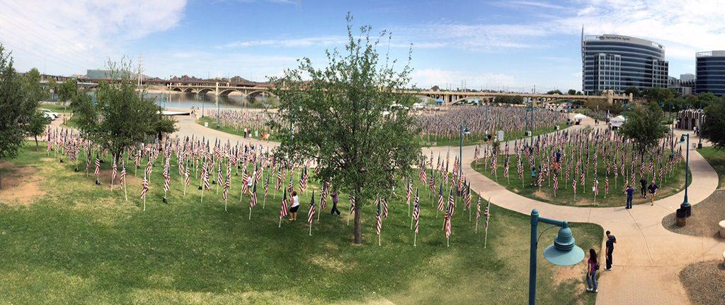 911 memorial healing field