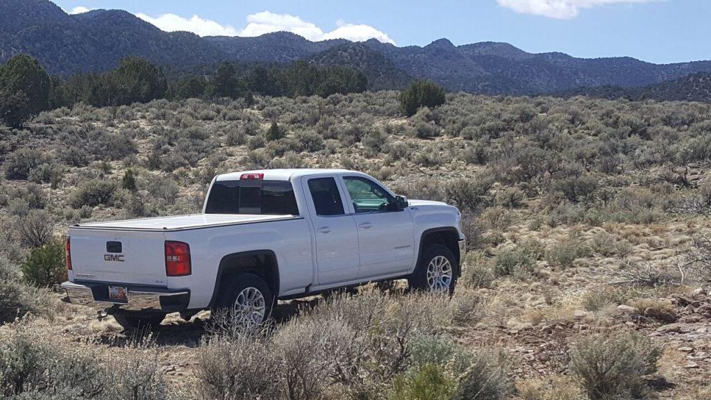 2017 GMC Sierra desert