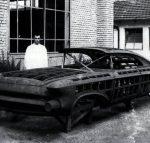 Chrysler Norseman at the Ghia workshop in Turin in 1955