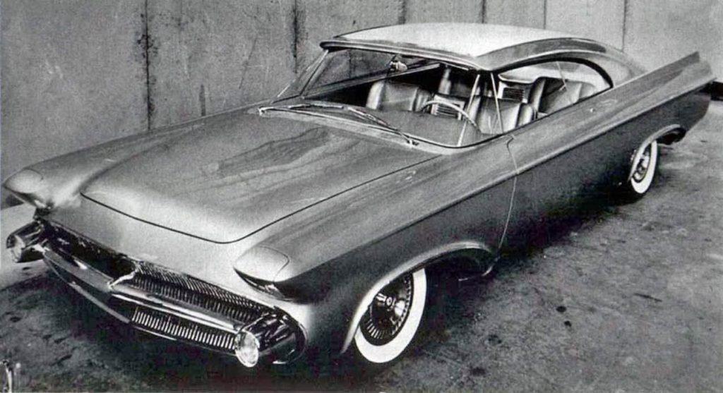 Chrysler Norseman, front 3/4 shot