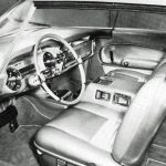 Chrysler Norseman, driver's side interior shot