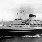 SS Andrea Doria at sea