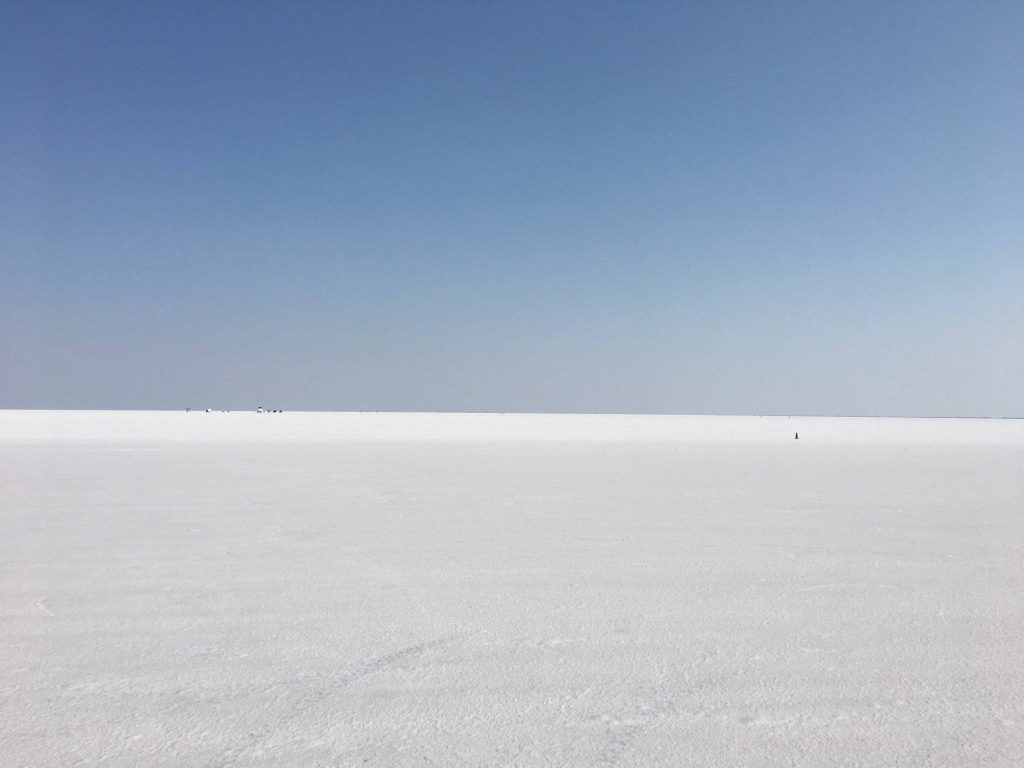 A view of the course at the 2018 Bonneville Speed Week