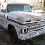 1964 Chevrolet truck, front passenger side