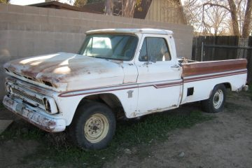 1964 Chevy truck, driver's side