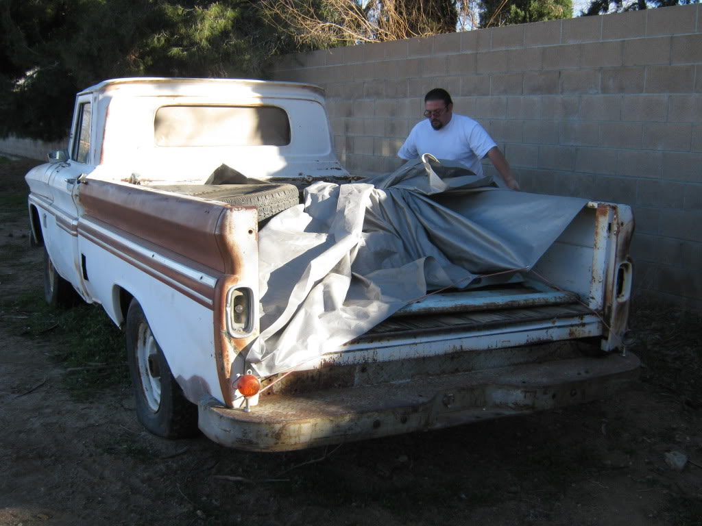 A 1964 Chevrolet Truck Is Rescued From Being Scrapped And Crushed