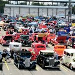 View of the NSRA Street Rod nationals