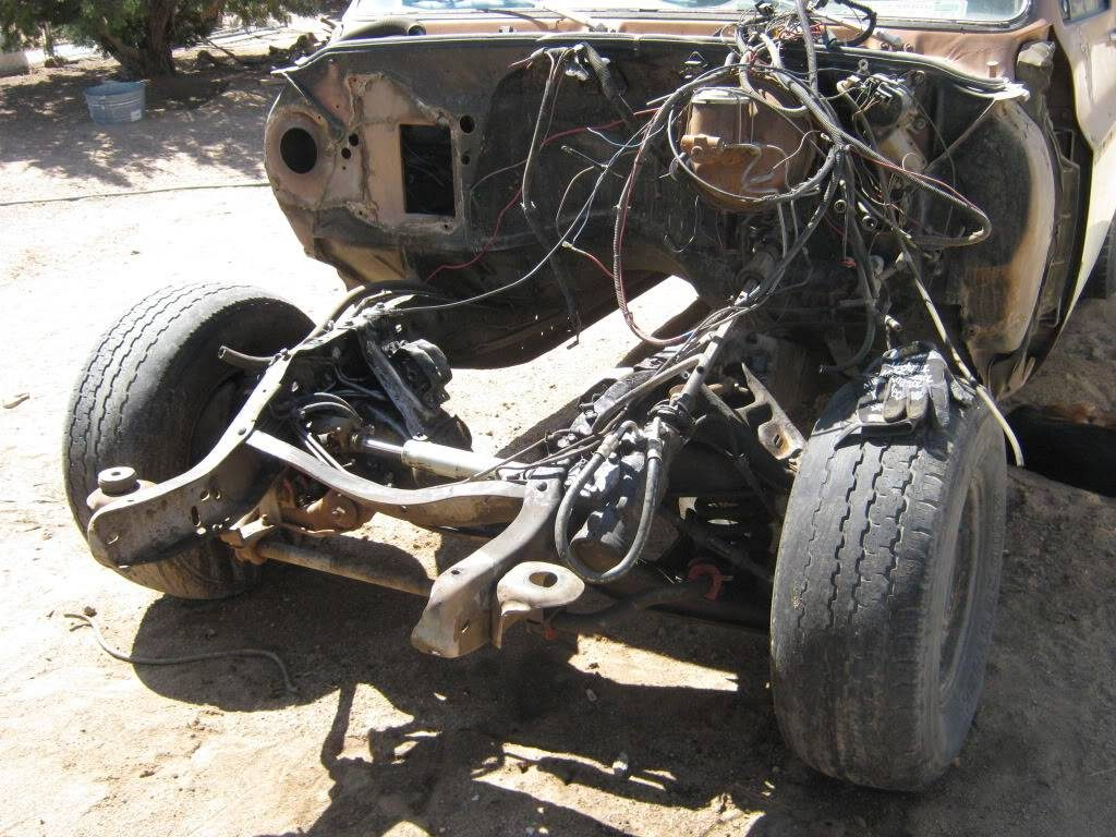 1979 Chevy Suburban front suspension