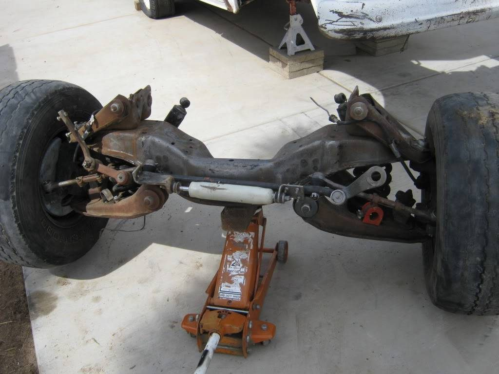 1979 Suburban front suspension, removed from the truck.