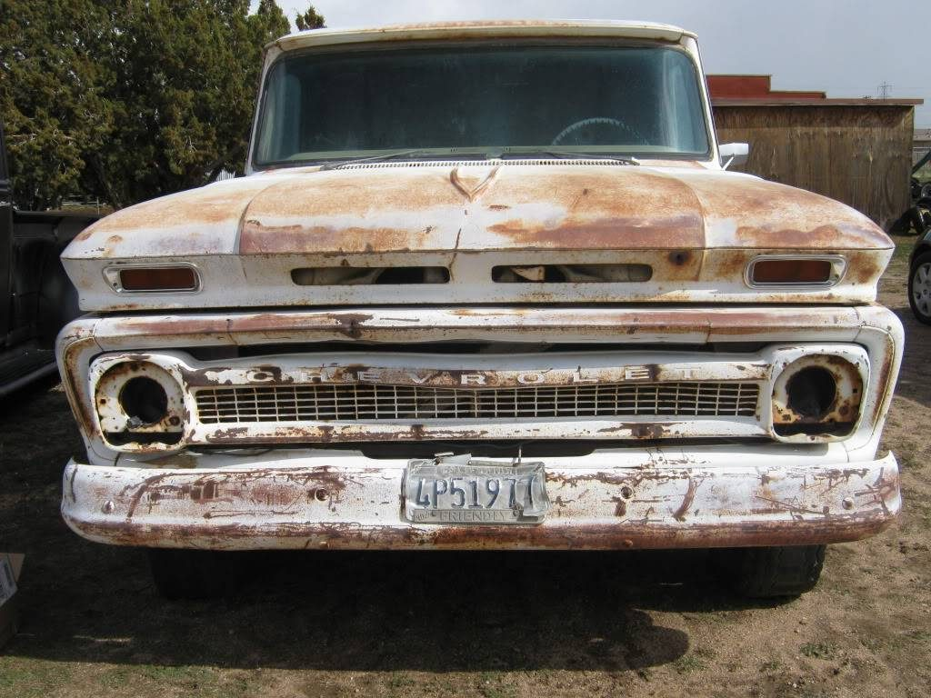 64 Chevy truck with original grille