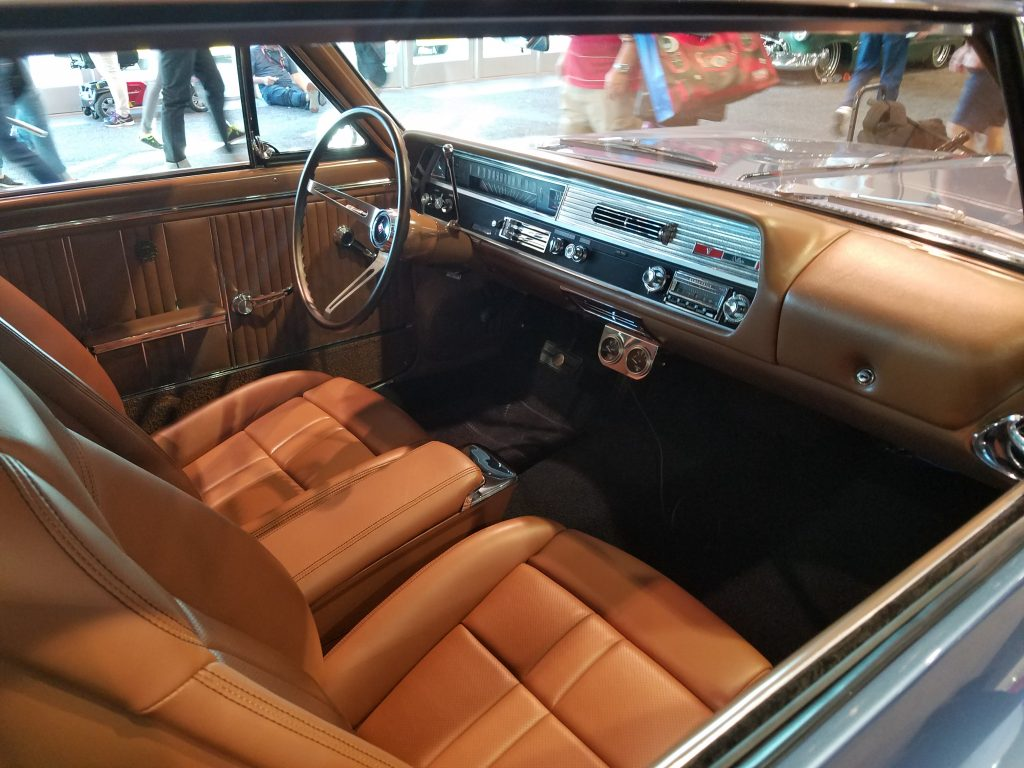 Steve Strope Cutlass interior