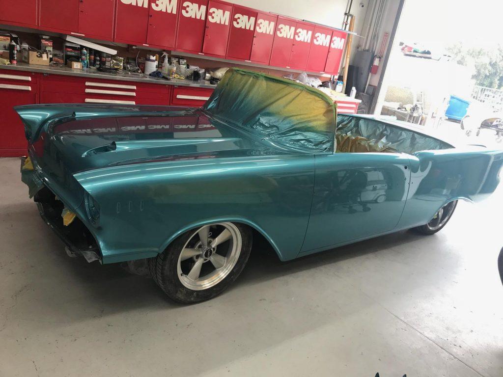 foose 1957 chevy convertible