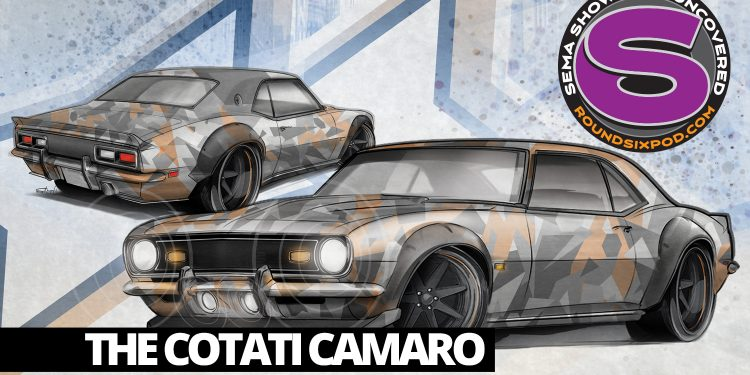cotati speed shop camaro sema 2018