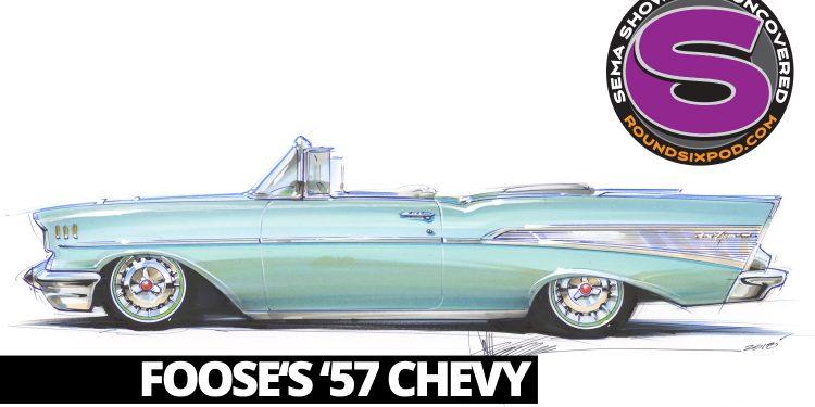 foose 1957 chevy sema