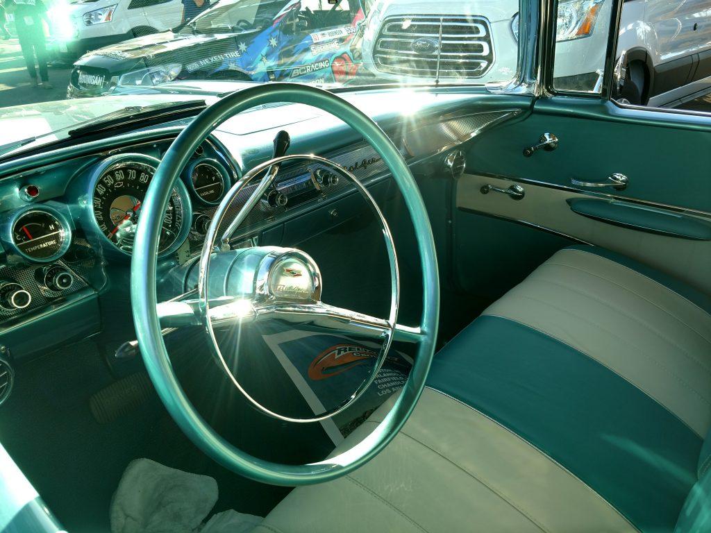 foose 1957 chevy interior
