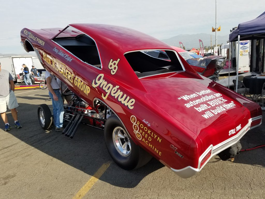 Ingenue Buick Funny car