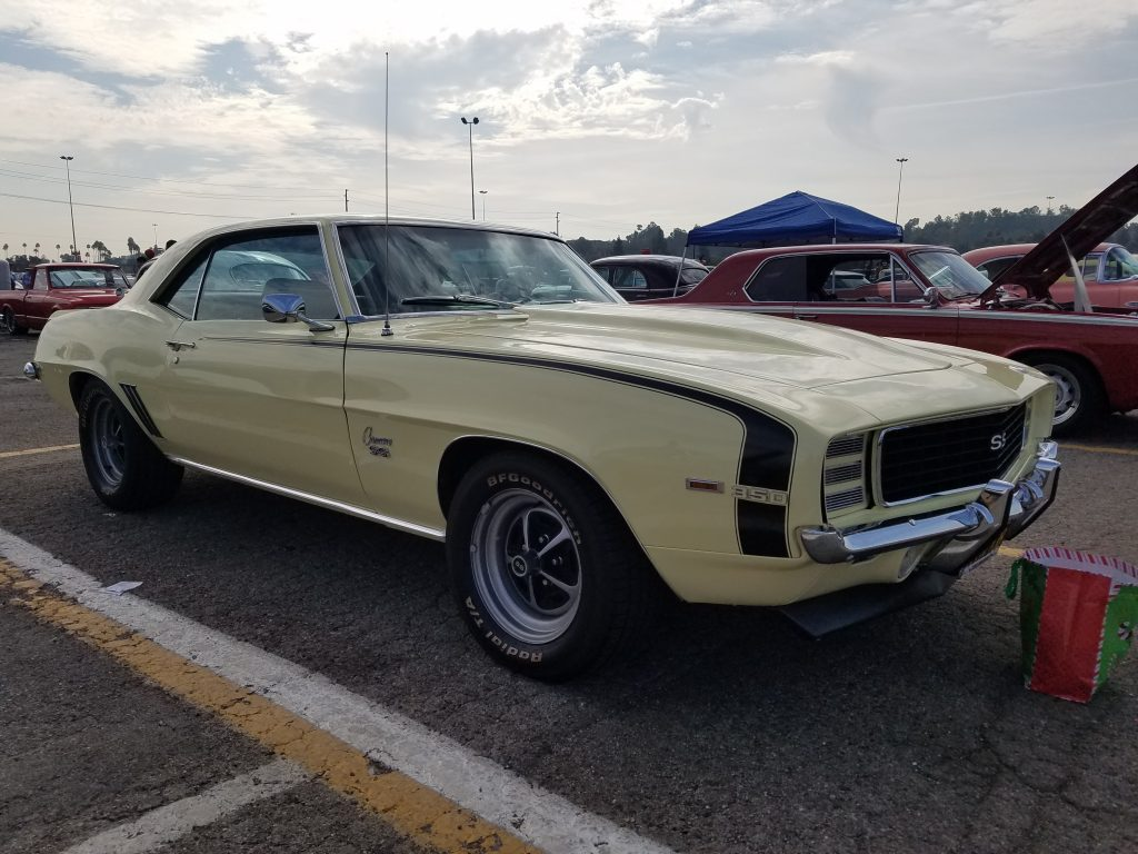 1969 Camaro in rare butternut color