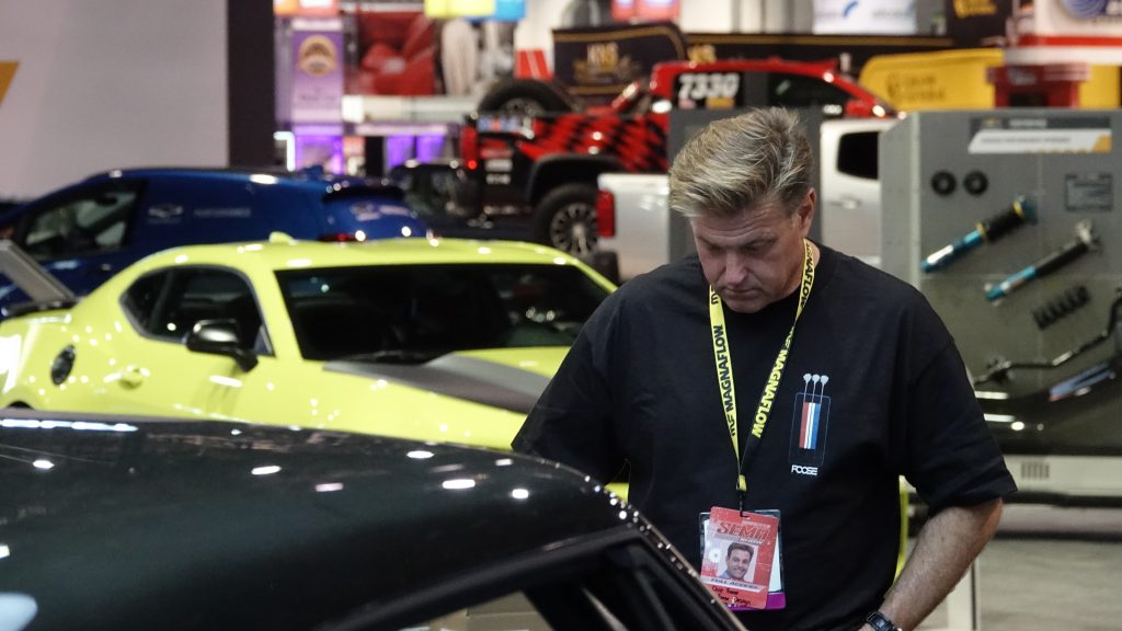Chip Foose BASF judging