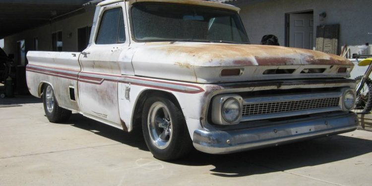 1964 Chevy C10 front 3/4 shot