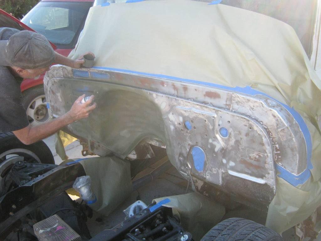 1964 Chevy truck firewall