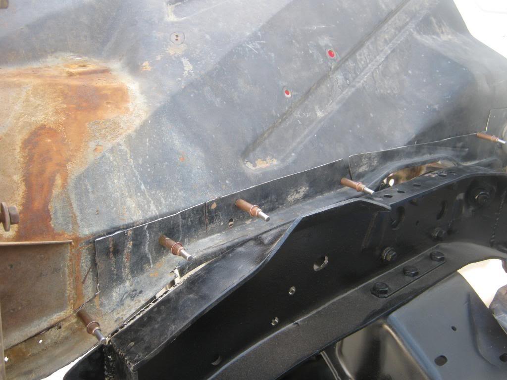 1964 Chevy truck inner fender