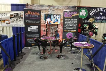 The Round Six booth, 2019 GNRS
