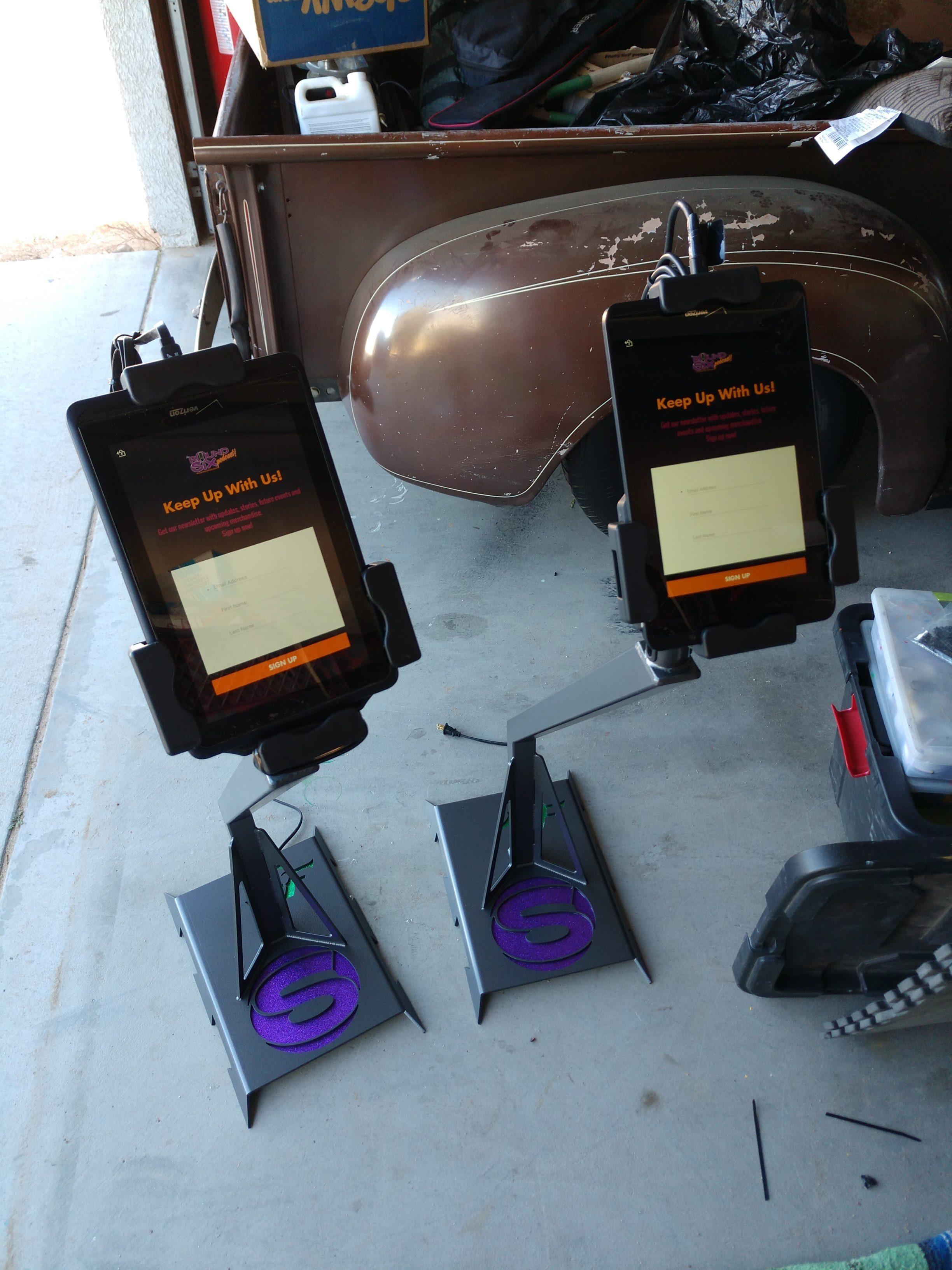 tablet holders