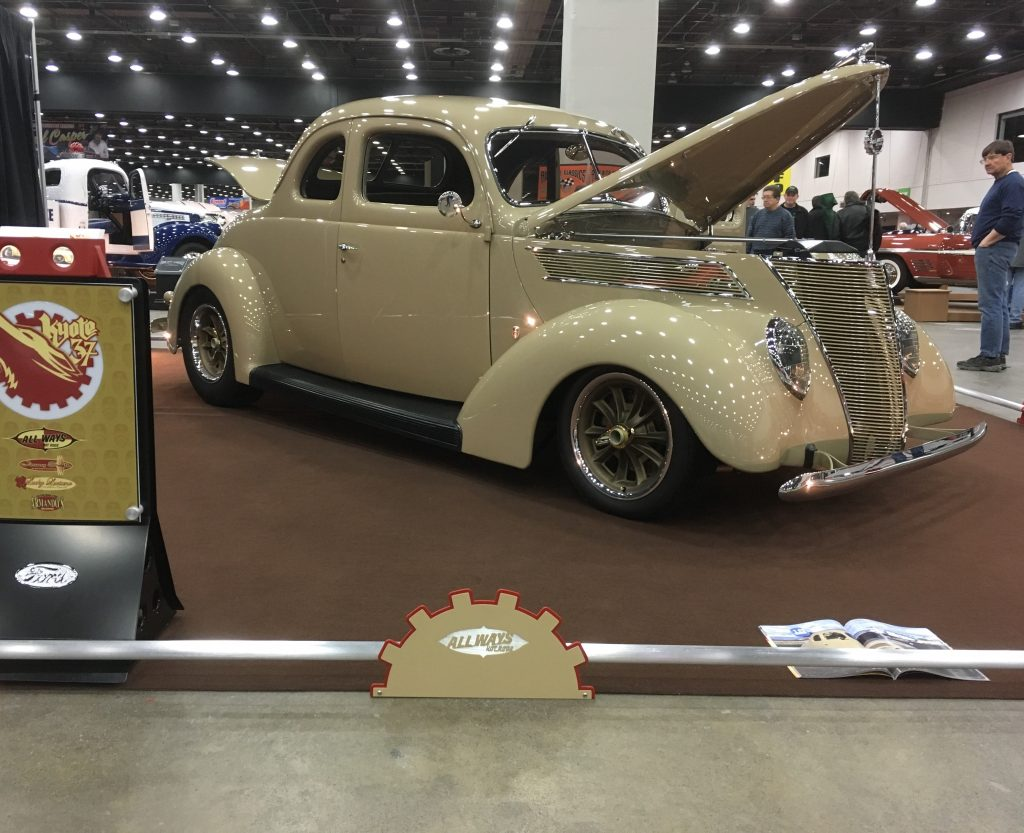 2019 Detroit Autorama All-Ways Hot Rods 1937 Ford