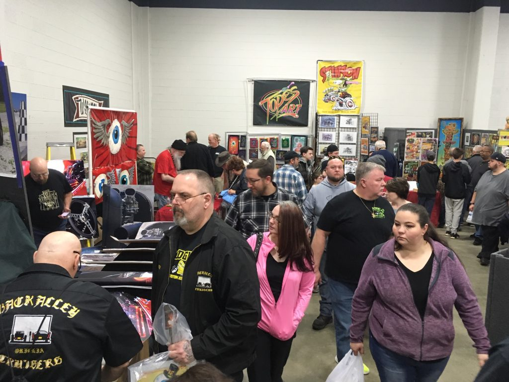 2019 Detroit Autorama Artists Alley