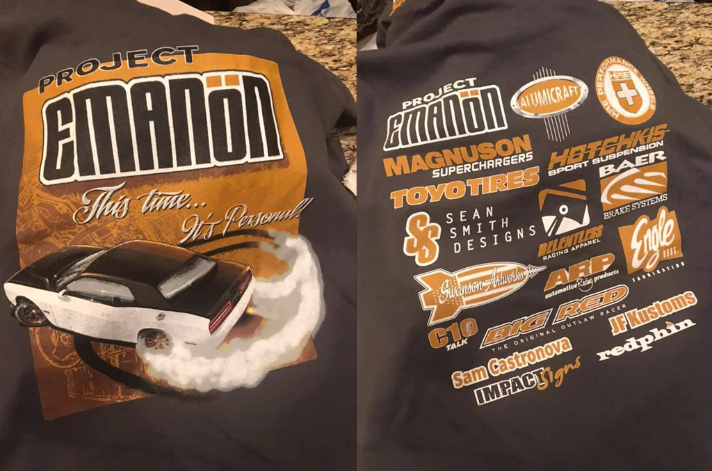 project emanon tee